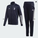 """Adidas Juventus Turin TK Suit """"Dunkelblau"""" 20/21 Kinder"""